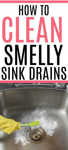 Dealing with a smelly sink drain? Check out these easy tips on how to get rid of a smelly sink drain. With these tips, your kitchen will smell great again.