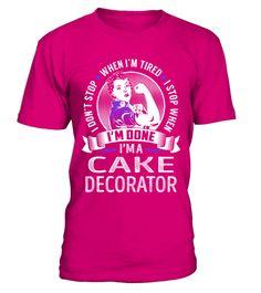 Cake Decorator - Never Stop