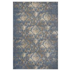 """Denim Abstract Loomed Accent Rug - (2'2"""" x 3'3"""") - Kas Rugs, Black"""