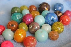 Faux opal beads out of polymer clay translucent and mylar flakes? Make Paper Beads, Polymer Clay Canes, Fitness Gifts, Clay Earrings, Clay Crafts, Flakes, Some Fun, Something To Do, Opal