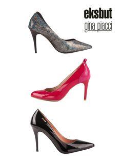 Które czółenka wybierzesz na imprezę sylwestrową? :)  #shoes #boots #buty #obuwie #szpilki #highheels #moda #fashion #eksbut #ginapiacci