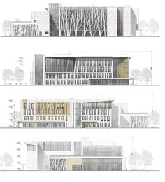 32 Ideas exterior design school facades for 2019 Source by aaalgilani Architecture Panel, Architecture Graphics, Concept Architecture, School Architecture, Architecture Design, Drawing Architecture, Gothic Architecture, Ancient Architecture, Facade Design