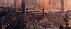 Image Midgar playground sector 6 - Final Fantasy VII - Remake - E3 2015