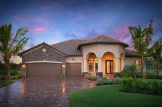 What is your initial impression of this Toscana estate home?