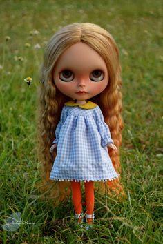 OOAK Rerooted Custom #Blythe Art Doll By Stable House www.wonderfinds.com/item/3_251270444990/c36546/OOAK-Blythe-Doll
