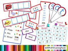 Letters and Sounds Phase 2 Activities, some are for SMART, and it cost about $13. British.