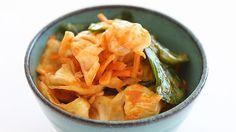 Kimchi for a little Korean credibility