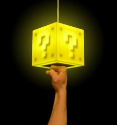 Imagine turning on your lights by heading them like Super Mario!