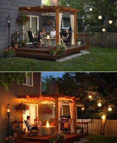 25 Beautifully Inspiring DIY Backyard Pergola Designs For Outdoor Enterntaining . 25 Beautifully Inspiring DIY Backyard Pergola Designs For Outdoor Enterntaining - Outdoor Life, Outdoor Spaces, Outdoor Living, Outdoor Ideas, Party Outdoor, Outdoor Kitchens, Diy Pergola, Pergola Ideas, Pergola Kits
