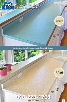 Pin By Miracle Method On Remodeling Refinish Countertops