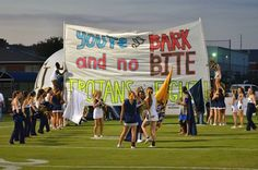 You're All Bark and No Bite, Trojans Let's Fight