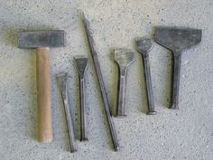 STONE Project | 7 Stone carving tools - introduction