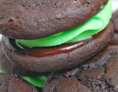 Studio 5: Chocolate Mint Whoopie Pies for St. Patricks day by the amazing Susan Neal!!! :)
