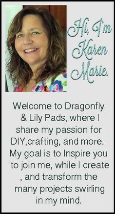 Dragonfly & Lily Pads Welcome to my new blog design. I invite you  to fly over and visit today!