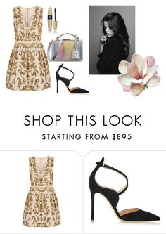 """""""Untitled #14370"""" by jayda365 ❤ liked on Polyvore featuring Alice + Olivia, Gianvito Rossi, Mark Cross and Victoria's Secret"""