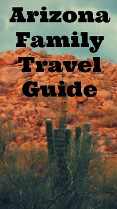 Arizona is a great destination for family travel. Whether you want to escape the chill of winter, explore ancient civilizations or learn about the magical desert, there is plenty to do for families in Arizona. Read on to learn more in this Arizona family travel guide.    #arizona #phoenix #scottsdale #desert #cactus #familytravel #travel #traveltips