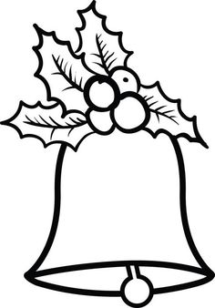 Christmas bells coloring page # 2 – Christmas Crafts Christmas Bells Drawing, Christmas Drawings For Kids, Christmas Paintings, Christmas Crafts For Kids, Felt Christmas, Christmas Colors, Christmas Projects, Christmas Ornaments, Christmas Decorations Drawings