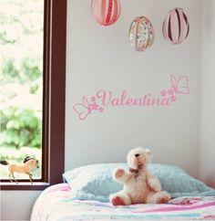 vinilos decorativos infantiles nombres paredes - Buscar con Google