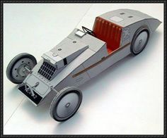 1923 Voisin Laboratoire Paper Car Free Vehicle Paper Model Download - http://www.papercraftsquare.com/1923-voisin-laboratoire-paper-car-free-vehicle-paper-model-download.html