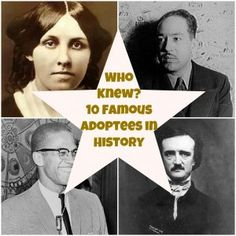 10 Famous Adoptees in History via Babble.com