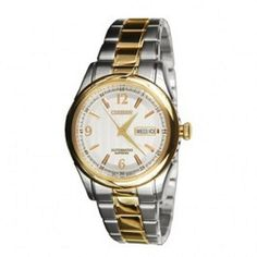 Citizen Men's Automatic Two Tone Sapphire Dress Watch Model - NH8317-54A