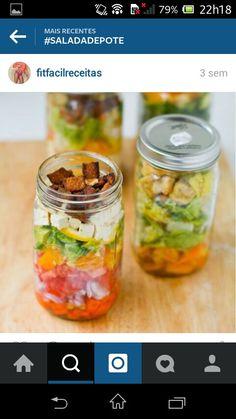 Croutons na salada