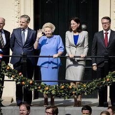 Beatrix kijkt toe op Prinsjesdag