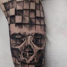 #skulltattoo by @mattjordantattoo /// #⃣#Equilattera #Miami #Mia #Venezuela #305 #Tattoo #Tattoos #Tat #Tatuaje #tattooed #Tattooartist #Tattooart #tattoolife #tattooflash #tattoodesign #tattooist #tattooer #tatted #tatt #instatattoo #ink  #art #linework #dotwork #blackwork #blackink #mandala #skull #geometrictattoo . Posted by @WazLottus