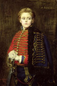 'Joseph Bara ' by Jean Joseph Weerts | If little Lord Stately's tyrannical rule of the nursery was any indication he was sure to grow into the very terror of the officer class.