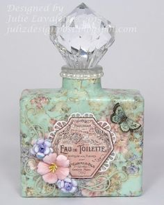 Juliz Design Post: Up-Cycled Perfume Bottles - Craft Consortium