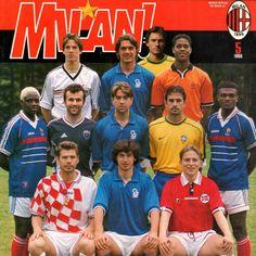 Grande Milán Football Icon, Football Players, Sir Alex Ferguson, Ac Milan, Baseball Cards, Grande, Sports, Beautiful, Soccer Players
