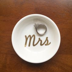 personalized ring dish ceramic ring dish glittered ring dish CUSTOMIZED Hexagon ring dish