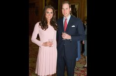 Pretty in Pink  On May 18, 2012, the Duchess wore a pretty and pink Emilia Wickstead fitted frock at the Lunch For Sovereign Monarchs event at Windsor Castle.