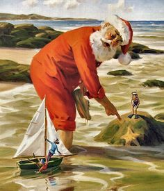 tom browning santa's time off - Google Search