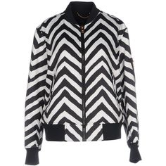 Diesel Jacket (10.110 RUB) ❤ liked on Polyvore featuring outerwear, jackets, black, flight jackets, floral-print bomber jackets, bomber style jacket, pattern jacket and single breasted jacket