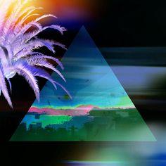Photo#art#digitalart#digital#design#visual#visualart#neon#layers#sunset#tropical#exotic#travelart#tourism#fashionart#palmtree#pyramid#black#nature#natureart#mexicancaribbean#playadelcarmen#mexico@blackpyramidofficial by steffkovalick
