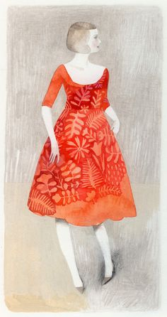 isabelle arsenault.i really like the idea of the dress as internal landscape......what a great idea.