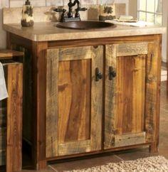 Abbott Concrete Counter Amp Reclaimed Wood Single Sink