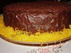 Bago de Romã: O Meu Bolo de Chocolate Preferido