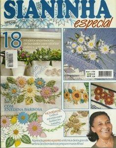 Artesanato com amor...by Lu Guimarães: Revista  Sianinha Minuano Ano 1 n 4 Especial