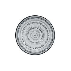 """Kastehelmi 6.75"""" Clear Plate"""