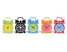Kikkerland Design Inc » Products » Mini Bell Alarm Clock