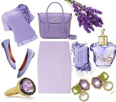 Lavender Mood ~ Fashion Moods Purple Color Palettes, Purple Palette, Shades Of Purple, Light Shades, Color Of The Year, Ruffle Top, Baby Blue, Orchid, Lilac