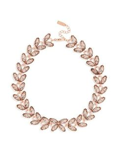 this garland necklace would look perfect with a strapless sweetheart necklace. get your pink #wedding accessory fix here: http://www.mywedding.com/articles/pink-wedding-accessories/