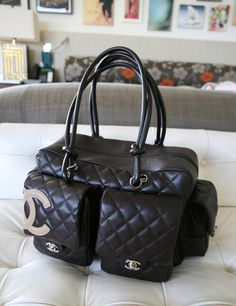 Chanel Ligne Cambon Quilted Reporter... This is my all time Chanel bag!