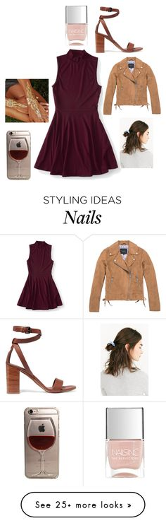 """""""."""" by laura-lorena-forever on Polyvore featuring Aéropostale, Marc New York, Vince, Urban Outfitters and Nails Inc."""