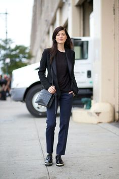Breaking fashion rules #5: navy and black