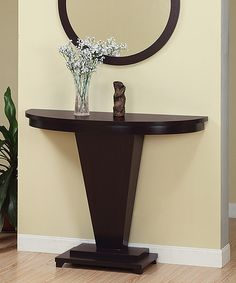 Dark Espresso Lennie Console Table by  #zulily #zulilyfinds