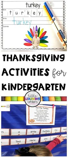 8 Fun Thanksgiving Activities for Kids (VIDEO)   Little Learning Corner
