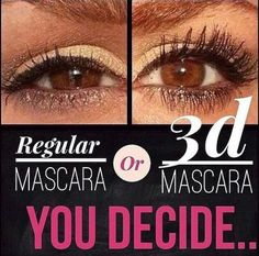 Younique's 3D Fiber Lashes - no falsies - no glue. It's quick and easy to apply, goes on just like mascara.
